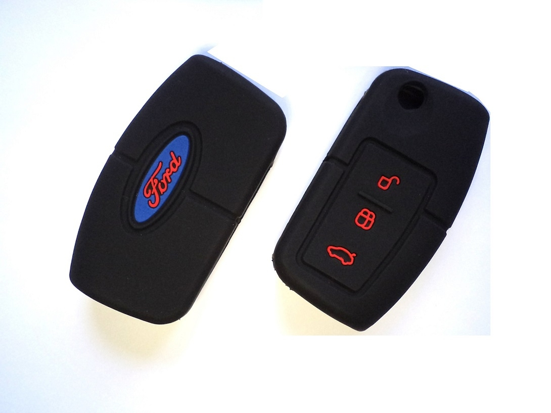 Buy Ford Ecosport Ford Fiesta 3 Button Remote Key Silicone Key Cover