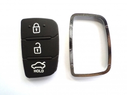 HYUNDAI i20 3 NEW MODEL BUTTON REMOTE KEY REPLACEMENT KEYPAD WITH PANEL - BLACK In Raipur