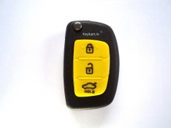 HYUNDAI i20 NEW MODEL 3 BUTTON REMOTE KEY REPLACEM In Thane