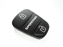 HYUNDAI SPORTAGE 3 BUTTON REMOTE KEY REPLACEMENT KEYPAD - BLACK
