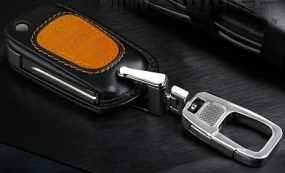 Leather Cover Shell Case for hyundai Series Remote Key In Raipur